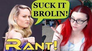 Download Captain Marvel Star Brie Larson Insults Thanos Actor Josh Brolin! RANT! Video
