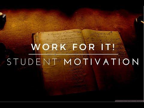Work For It! - Exam Motivation