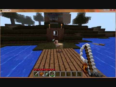 How to catch a fish in Minecraft! (1.7.4)