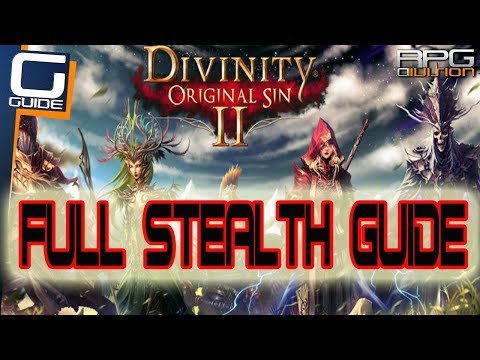 DIVINITY OS 2 - Complete Stealth Guide (How to backstab, initiate from stealth, critical hits)