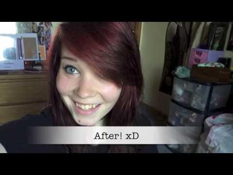 Toning Down Bright Red/Orange Hair