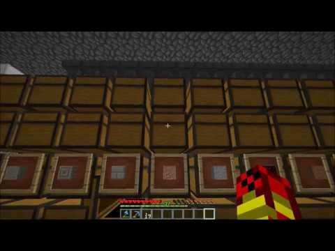 Minecraft: ITEM SORTER STORAGE ROOM