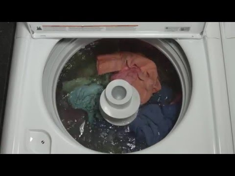 GE Appliances Top Load Washer - Deep Fill