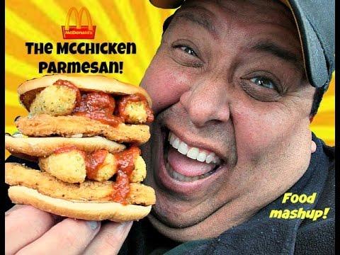 McDonald's Food Mashup: The McChicken Parmesan!