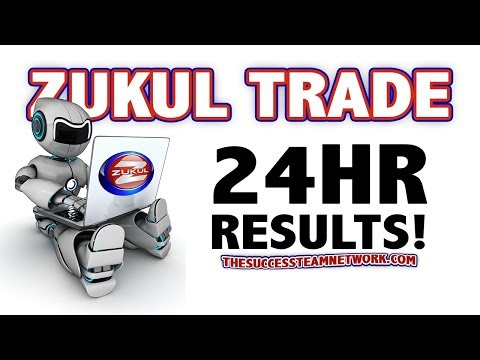 Zukul Trade CryptoCurrency Trading Platform – First 24hrs Results Of My Trading Bot!