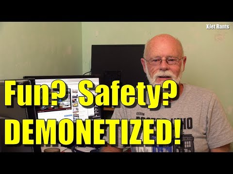 Drone, Fun & Safety videos now being demonetized on YouTube?