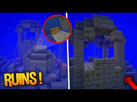 UNDERWATER RUINS!! - Minecraft 1.3 Aquatic Update (Concept)