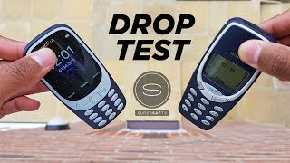 NEW Nokia 3310 DROP TEST vs Original Nokia 3310