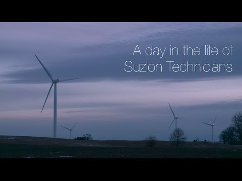 A Day In The Life Of Suzlon Wind Energy Corporation Technicians
