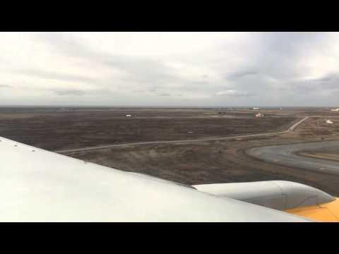 Landing at Keflavik Airport