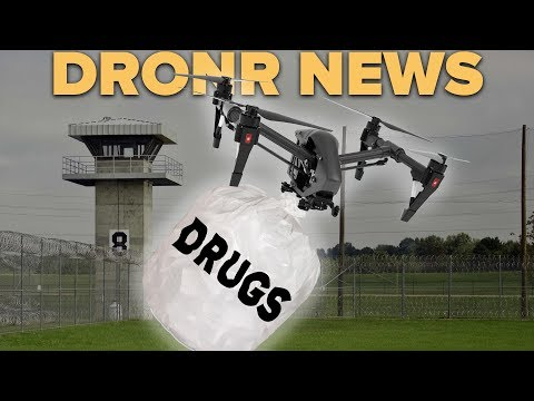 Drones are smuggling stuff into PRISONS!