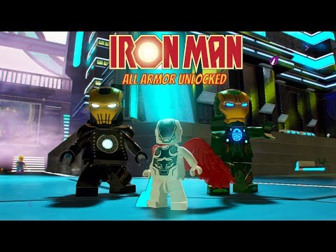 LEGO Marvel Super Heroes 2 All Iron Man Characters Unlocked!