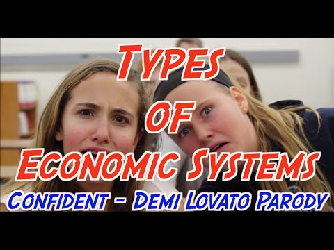 The Economic Systems Song (Confident by Demi Lovato Parody)