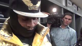 Marshawn Lynch Panthers Post Game Interview