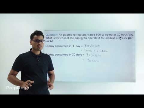 Electricity class 10 | Electric Power - Numerical