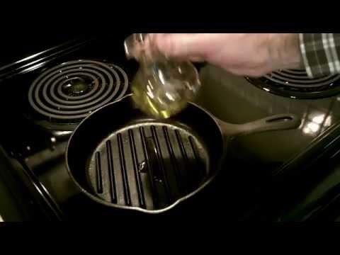Cast Iron Grill Pan, Fall Chinook Salmon!