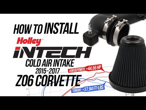 Holley iNTECH Cold Air Intake for 2015-17 Z06 Corvette