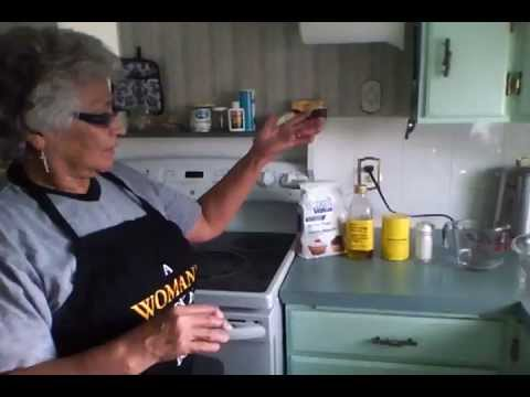 How To Make Indian Bannock w/ Gramma Glenda
