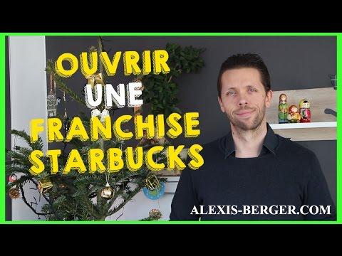 Ouvrir une franchise de café Starbucks