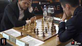 Carlsen vs Ding Liren | Lindores Abbey Chess 2019 | Round 1