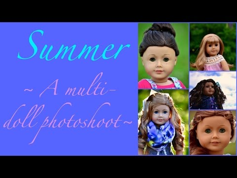Summer ~ A Multi-Doll Photoshoot