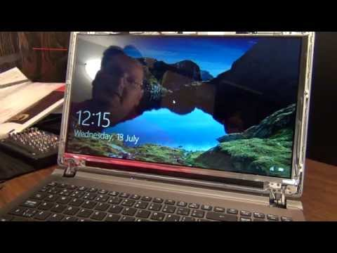 Laptop screen replacement / How to replace laptop screen [Acer ASPIRE V5-552-8824]