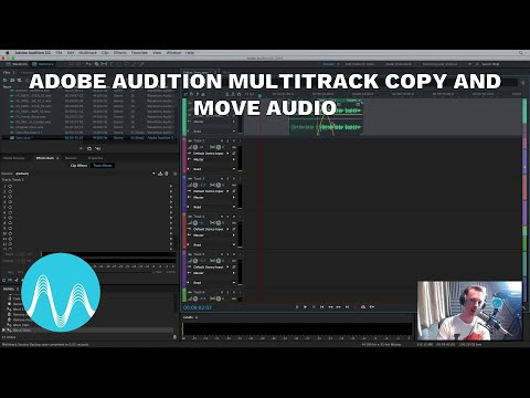 Adobe Audition Multitrack Copy and Move Audio