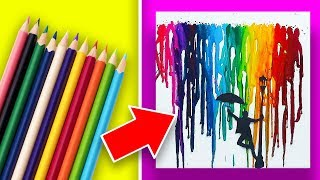 17 Easy Art Projects Anyone Can Make