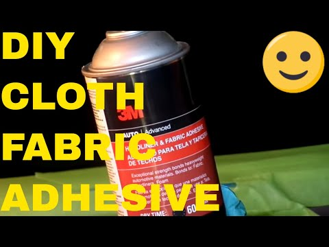 Tips For Reattaching Automotive Fabric On Door Panels/Headliners