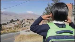 Naughty Boy - la la la (tv report in Bolivia)