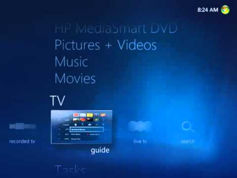 How to watch TV with Windows Media Center