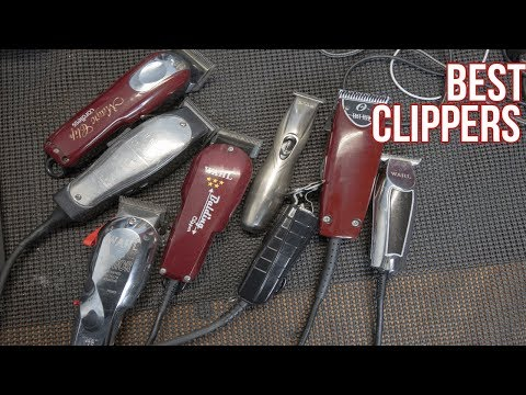 Best Barber Clippers For Fades 2017!