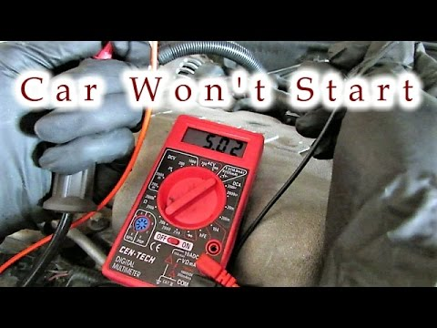Learn how to test test your entire ignition system--problem solved car starts again