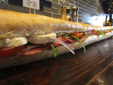 A Monster of an Italian Sub Sandwich
