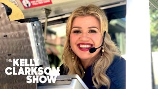 Kelly Surprises Teachers With a Life-Changing Tram Ride, ft. Celine Dion | The Kelly Clarkson Show