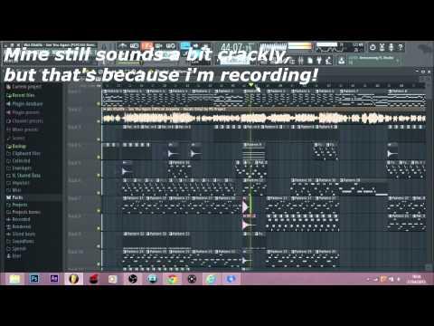 FL Studio 12 | Distorted Crackling Sound *Fix* (HD Tutorial)