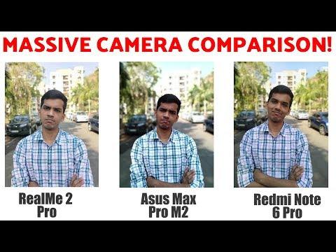 Redmi Note 6 Pro vs Zenfone Max Pro vs Realme 2 Pro Camera Comparison!