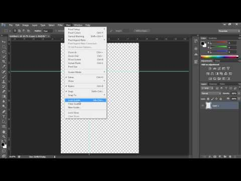 How to Use Ruler Tool in Photoshop CS6