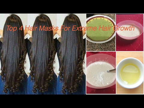 Hair Growth Masks For Fast and extreme Hair Growth - DIY
