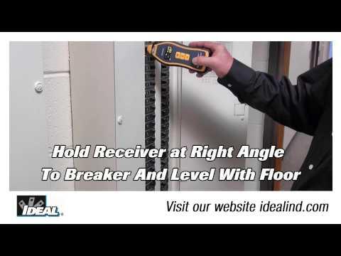SureTrace™ Circuit Tracer Identifying a Breaker