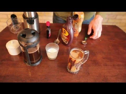 How to Make Caramel Turtle Coffee : Making Coffee