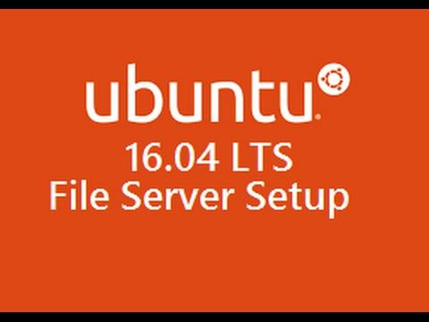Ubuntu File Server Setup