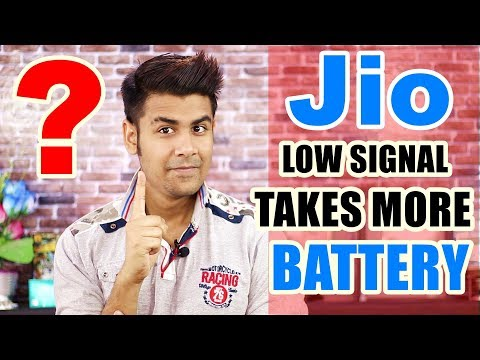 Why Low Jio Signals Takes More Battery ? | Smartphone Network Signals & Power Consumption Explained