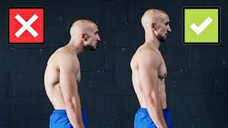 Improve Your Posture , 3 Exercises Only!