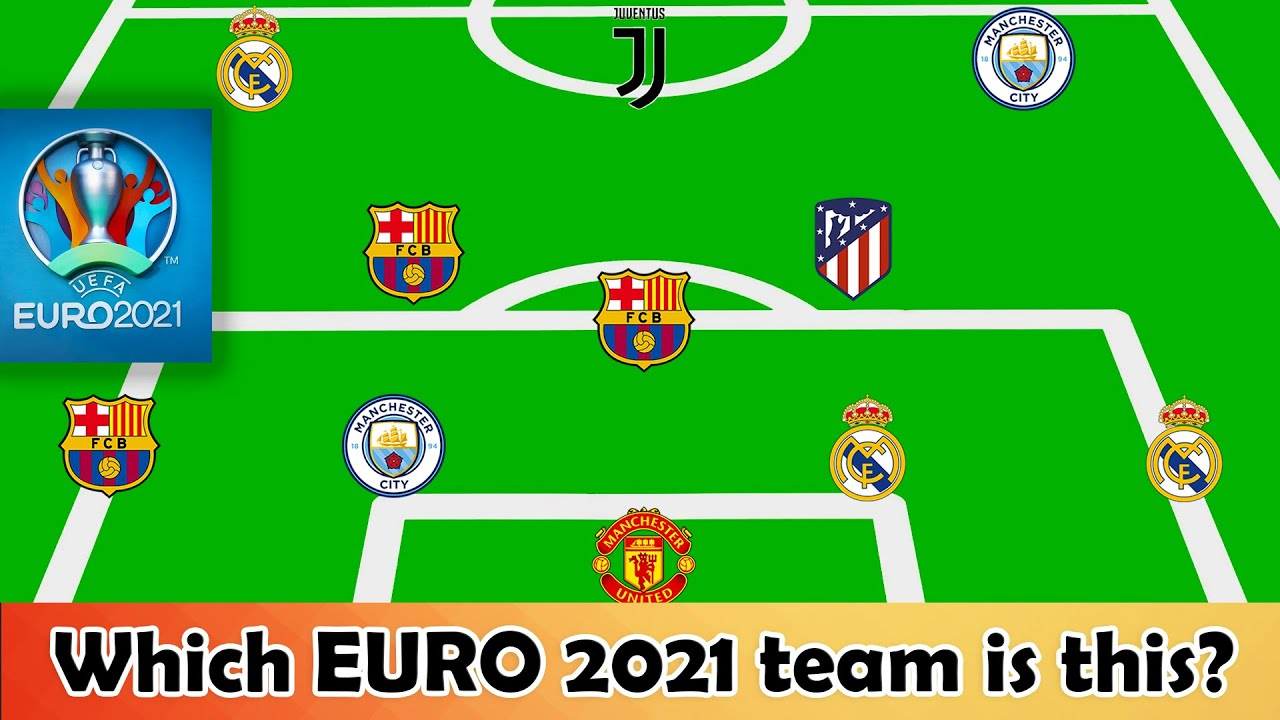 Which EURO 2020 national team is this? ⚽️ Football Quiz 2021