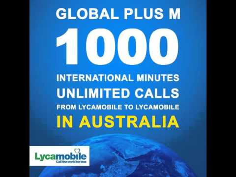 Lycamobile AUSTRALIA: Global Plus