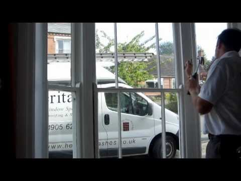 Sash Window Restoration, Rennovation and Draught-proofing by Heritage Sash Window Specialists