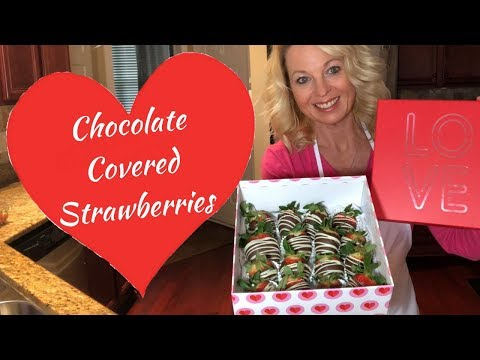 Chocolate Covered Strawberries - How to Make