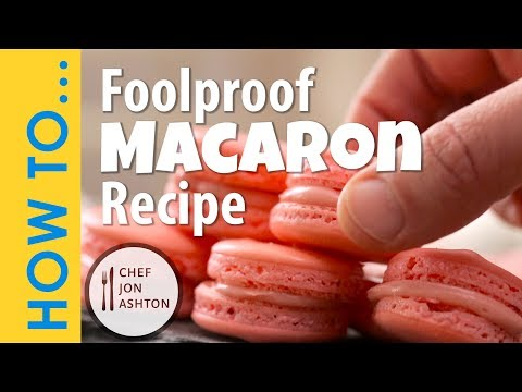 Effortless Macarons Recipe - How to Make a Foolproof French Macaron
