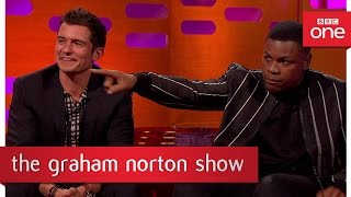 John Boyega owns some unusual ornaments - The Graham Norton Show 2017: Preview - BBC One